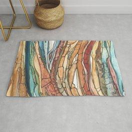 Abstract Sediment Rug
