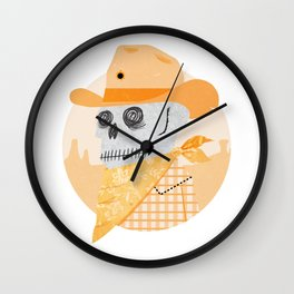 Wanted Dead Wall Clock