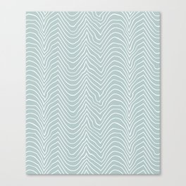 wiggly-sea art Canvas Print
