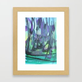 Abstractions in Nature 3 Framed Art Print