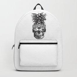 Pineapple Skull Head Backpack