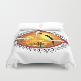 Bloodshot Dragon's Eye Duvet Cover