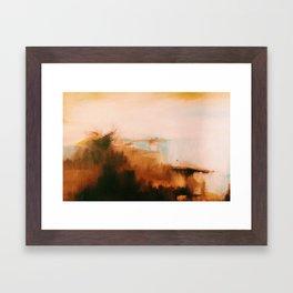 Oil Landscape Framed Art Print