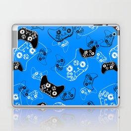 Video Gamer Blue Laptop & iPad Skin