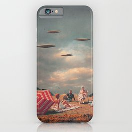 Pretend They Never Came iPhone Case