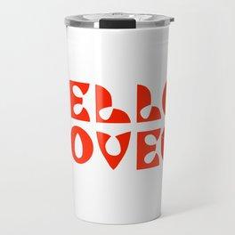Hello Love Travel Mug