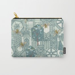hexagon city Carry-All Pouch
