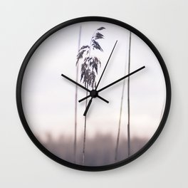 Winter nature Wall Clock