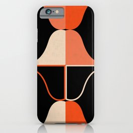 Mid Waves Sunset iPhone Case