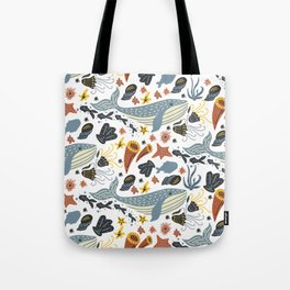 Sea Pattern #1 Tote Bag
