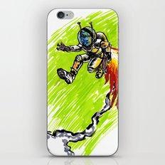 Blast Off! iPhone Skin