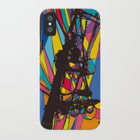 the wire iPhone & iPod Cases featuring wire by PINT GRAPHICS