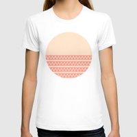 peach T-shirts featuring Peach by Lyle Hatch