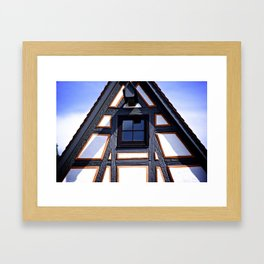 Germany Cottage Framed Art Print