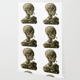 Van Gogh, Head of Skeleton Artwork Skull Reproduction, Posters, Tshirts, Prints, Bags, Men, Women, K Wallpaper