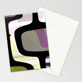 Mid Century Abstract 1 Stationery Cards