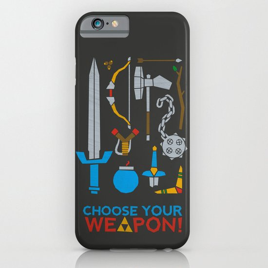 Choose Your Weapon Dark iPhone & iPod Case