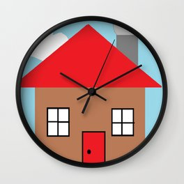 Paint House Wall Clock