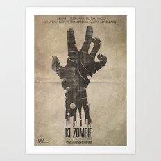 KL Zombie Fan Art Poster Art Print