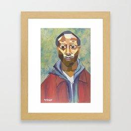 The Tribute Series-Kalief Browder Framed Art Print