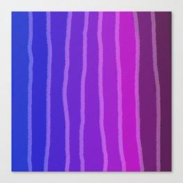 Vertical Color Tones #4 Canvas Print