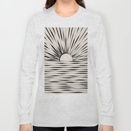 Minimal Sunrise / Sunset Long Sleeve T-shirt