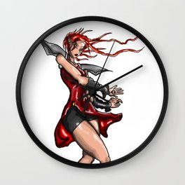 Cross Crisis Sui Wall Clock