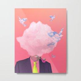 This Is Not A Cloud III Metal Print