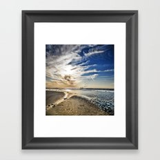 As Far As the Eye Can See Framed Art Print
