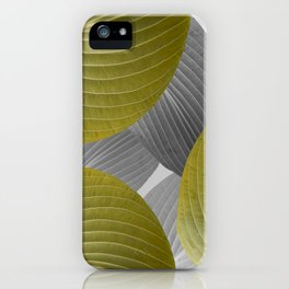 Beautiful Large Leaves #decor #society6 #buyart iPhone Case