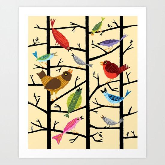 For All The Birds  Art Print