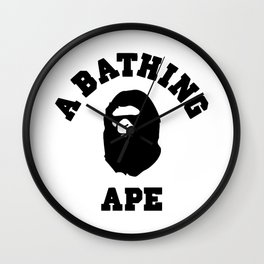 a bathing ape Wall Clock