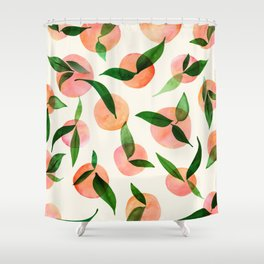 Summer Fruit Pattern Shower Curtain