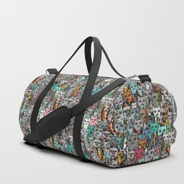 Gemstone Cats Duffle Bag
