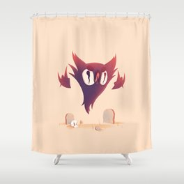 Haunter Shower Curtain