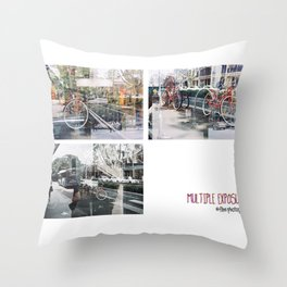 Accidental Exposures Throw Pillow