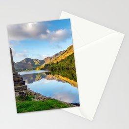 Crafnant Lake Obelisk Stationery Cards