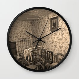 Room without View Wall Clock