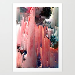 Mt. CandyCane Art Print