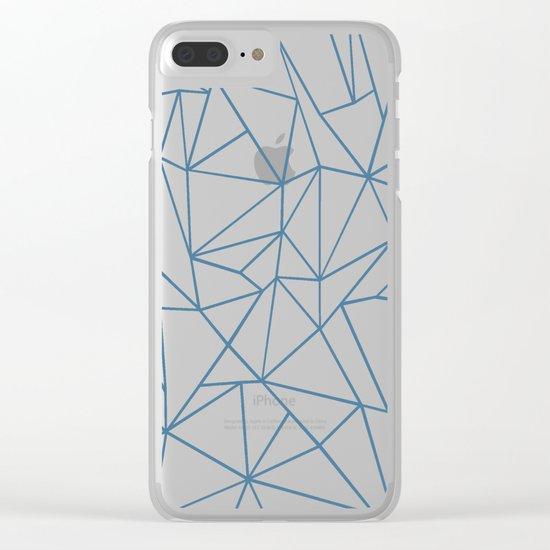 Ab Blues Clear iPhone Case