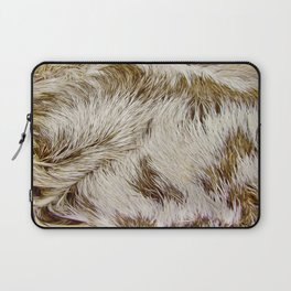 Boca Sloth coat  Laptop Sleeve