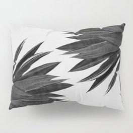 Agave Cactus Black & White Pillow Sham