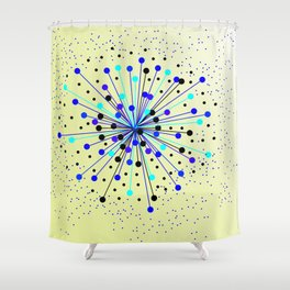 Colourful Abstract Background Shower Curtain