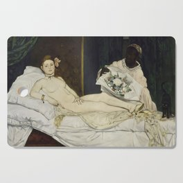 Olympia, Edouard Manet, 1863 Cutting Board