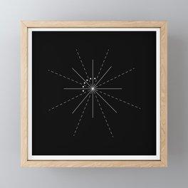 Molly's Eye - Black Framed Mini Art Print