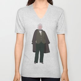 Third Doctor: Jon Pertwee Unisex V-Neck
