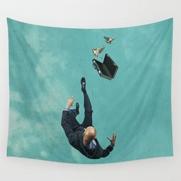 The salesman Wall Tapestry