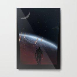 Mass Effect | Warriors Landscapes Serries Metal Print