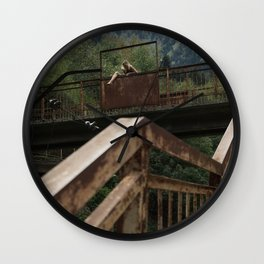 Choose Life Wall Clock