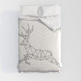 Geometric Deer 2 Comforters